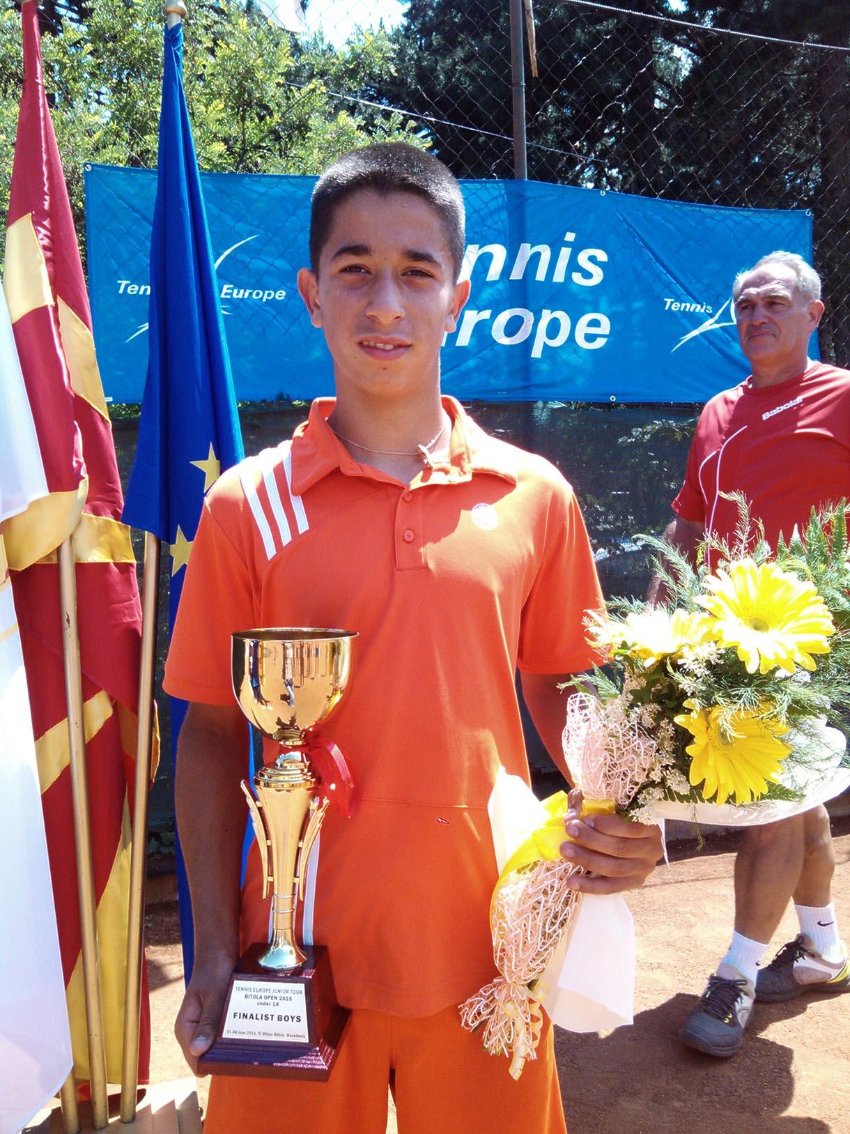 Luka Stefanović nastavlja seriju uspeha na Tennis Europe turnirima