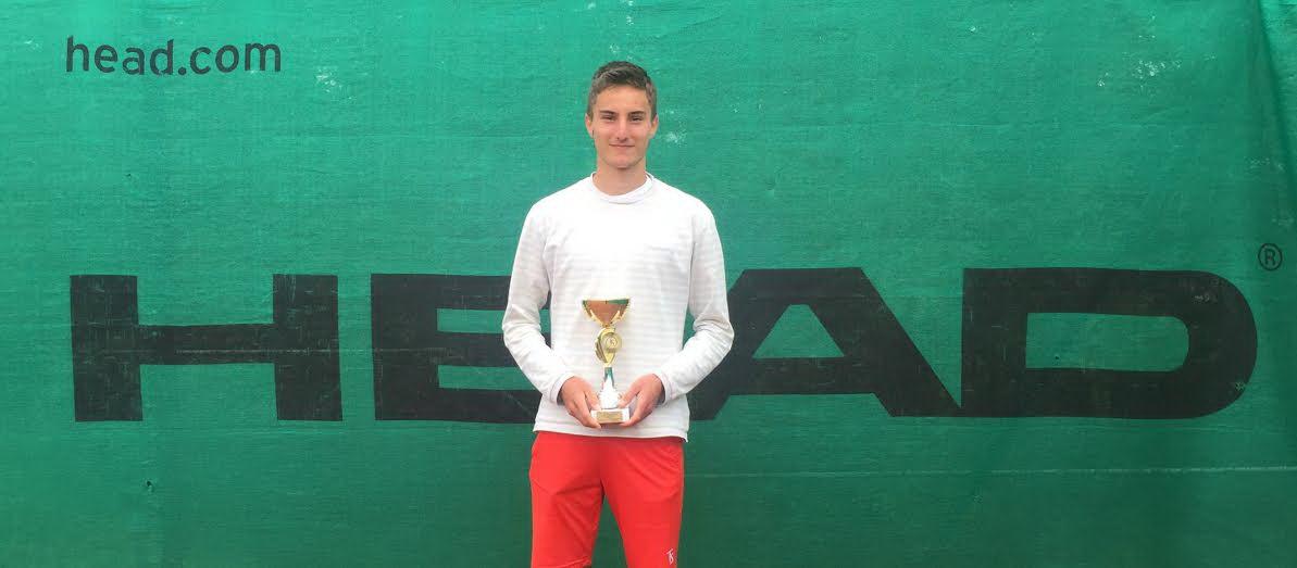 Nikola Dimitrijević pobednik prvenstva Srbije do 18 godina