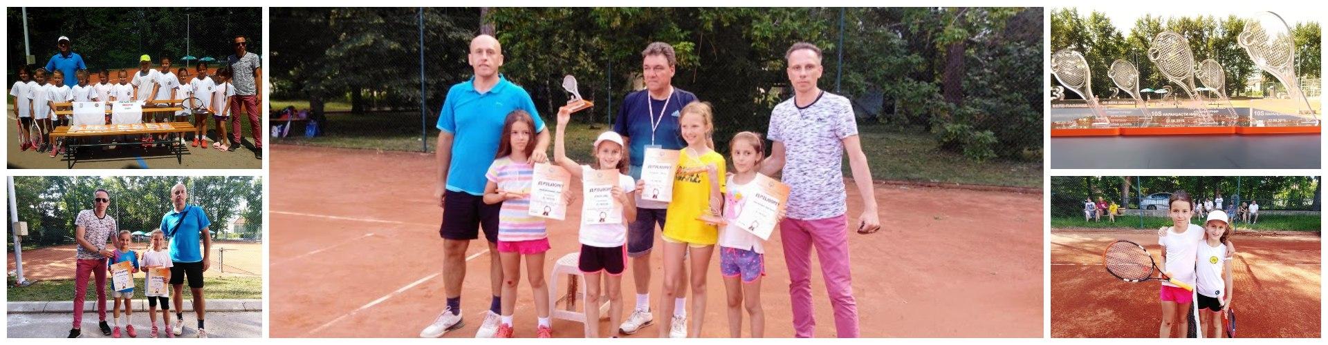 Kolev Ivi pobednički pehar na OP Bele Palanke za devojčice do 10 godina - narandžasti nivo