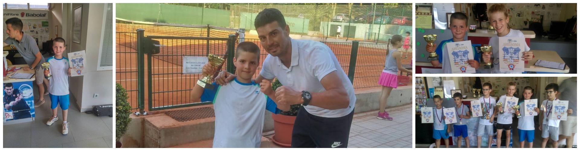 Pavle Stojiljković (TK Šumice) osvojio OP Beograda - narandžasti nivo