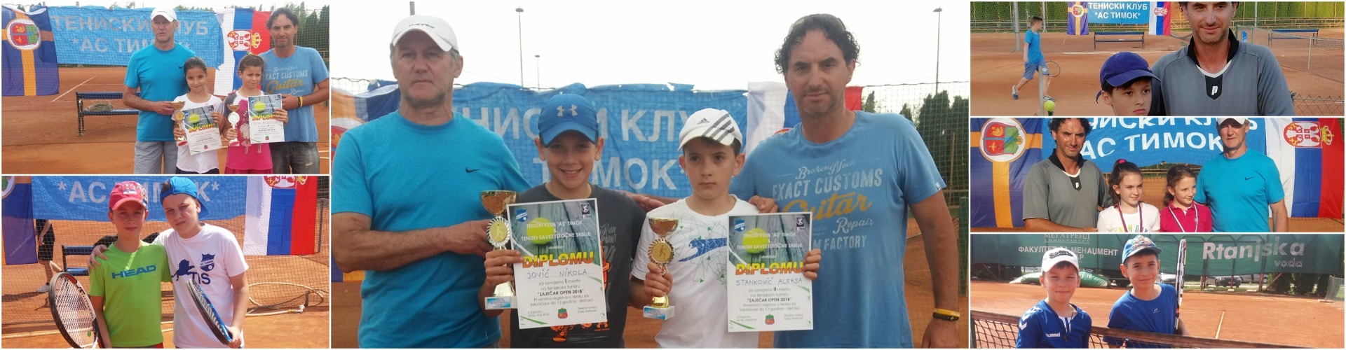 Prvenstvo TSIS do 12 god. ZAJEČAR OPEN 2018 - rezultati